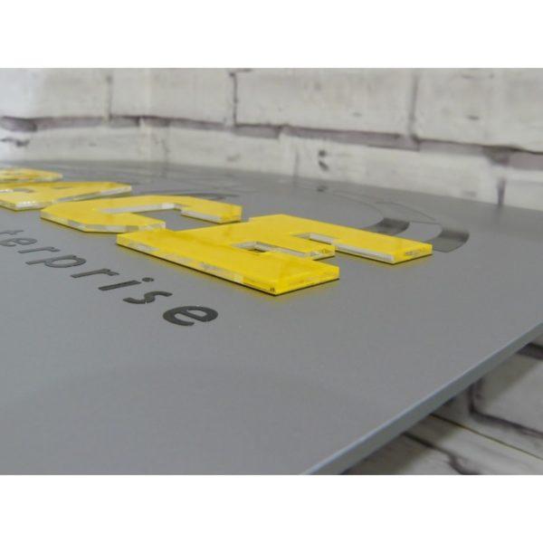 Табличка с объемными элементами 40х30 см