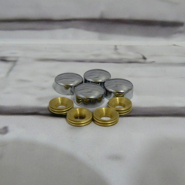 Комплект из 4 декоративных держателей для табличек (1001.2)