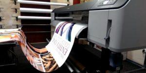 Широкоформатная интерьерная печать, изготовление наружной рекламы, стендов и табличек