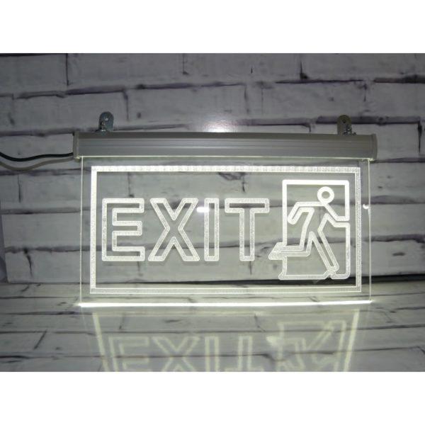 Световой указатель выхода 30х15 см (код 90541)